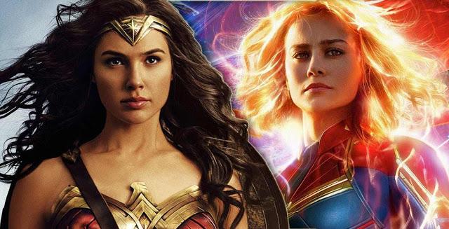 Captain Marvel e Wonder Woman: Scritture Femminili Ai Tempi Del Cinecomic